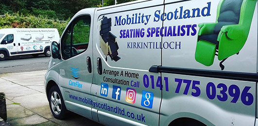 Mobility products for sale in Glasgow Mobility Scotland